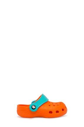 Akınalbella Unisex Turuncu Turkuaz  Sandalet E012000B 0