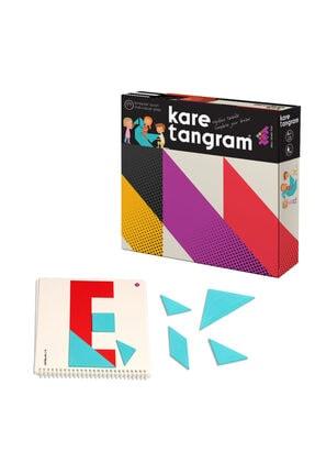 Zet Zeka Zet Zeka Kare Tangram Lüx Zeka Oyunu (7 Parça 36 Farklı Şekil) 0