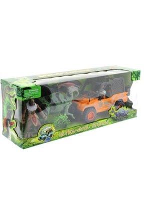 MEGA Dinozor Avcısıjeepli Oyun Seti 2