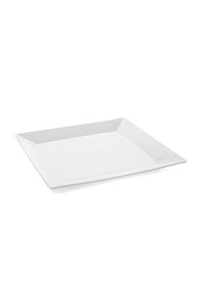 Güral Porselen Merid Beyaz Servis Tabağı 1 Adet 0