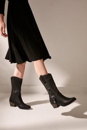 Siyah Kadın Çizme 01BOY165350A100
