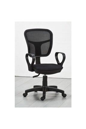 CLK Siyah Fileli Bilgisayar Ofis Çalışma Sandalyesi Koltuğu 0