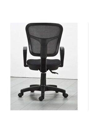 CLK Siyah Fileli Bilgisayar Ofis Çalışma Sandalyesi Koltuğu 1