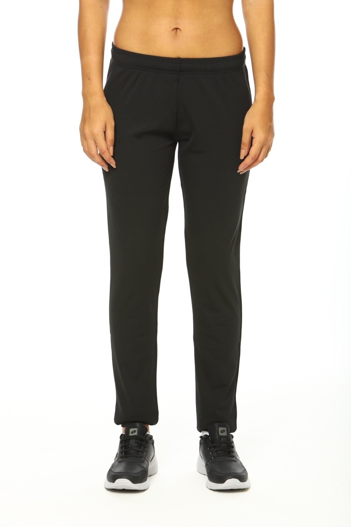 Eşofman Altı Kadın Siyah-fleece Pant Pl W-r9639