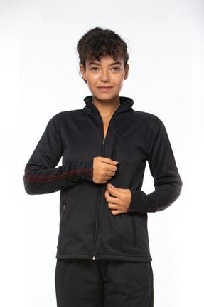 Lotto Sweatshirt Kadın Siyah-fleece Sweat Fz Pl W-r9646 3