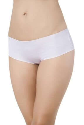 Picture of Kadın Beyaz Lazer Kesim Iz Yapmayan Şort Külot 3'lü Paket