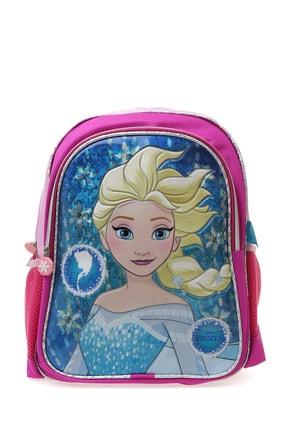 Koton Kız Çocuk Pembe Elsa Figürlü Sırt Çantası 0