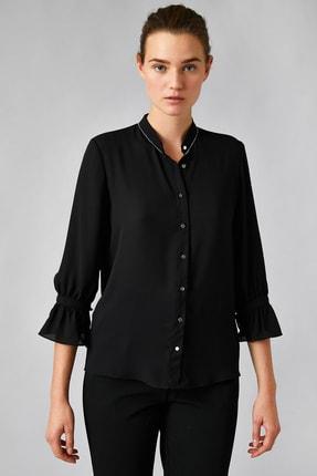 Koton Kadın Siyah Gömlek 0KAK68446PW 2