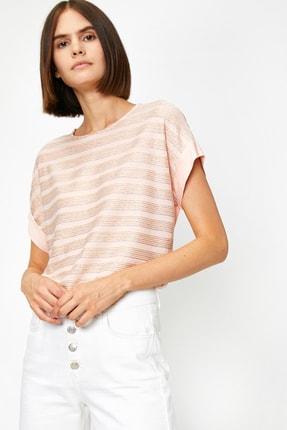 Koton Kadın Pembe T-Shirt 0YAK13167EK 0