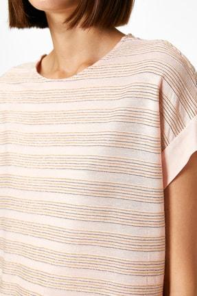 Koton Kadın Pembe T-Shirt 0YAK13167EK 3