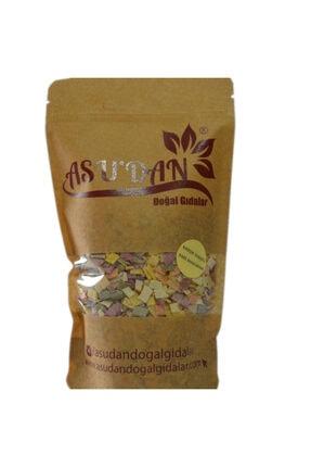 Asudan Doğal Gıdalar Karışık Sebzeli Kare Makarna 300gr 0