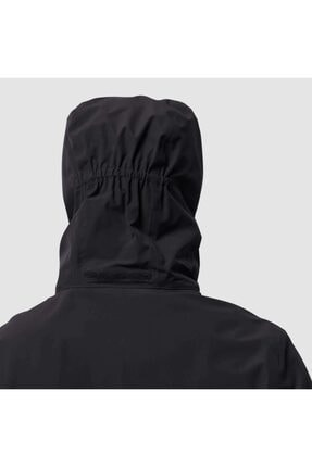 Jack Wolfskin Erkek Siyah Rüzgar Geçirmez Outdoor Ceket 111114 2