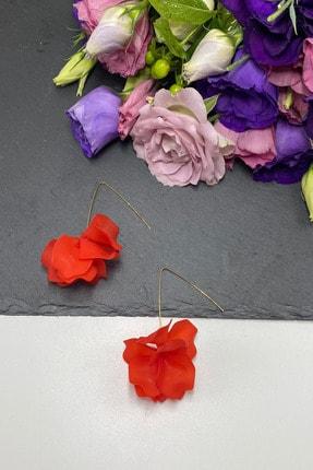 Takı Noktası Nar Çiçeği Çiçek Küpe 1