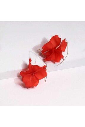 Takı Noktası Nar Çiçeği Çiçek Küpe 2