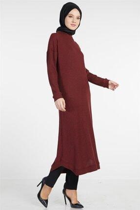 Tuğba Kadın Bordo Elbise 1