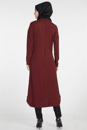 Tuğba Kadın Bordo Elbise 2