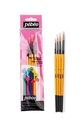 Pebeo 4'lü Suluboya Fırça Seti 1 5665065 0