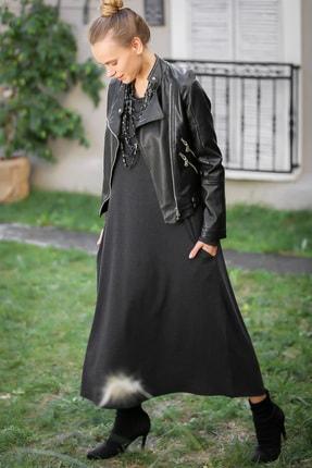 Chiccy Kadın Füme Gizli Cepli Yumoş Elbise C10160000EL97527 2