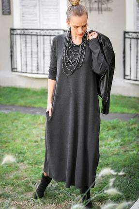 Chiccy Kadın Füme Gizli Cepli Yumoş Elbise C10160000EL97527 3
