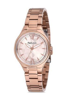 Ferrucci Kadın Rose Gold Yuvarlak  Kol Saati 0