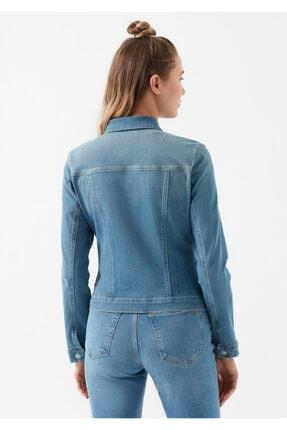 Mavi Kadın Daisy Vintage Açık  Jean Ceket 1113623511 3