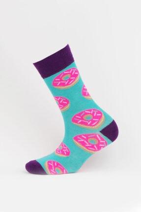 Mojjo Kadın 3 Lü Bambu Soket Çorap 2