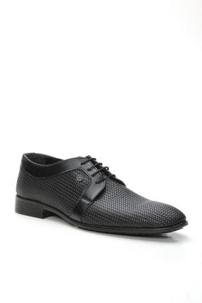 Ayakkabı Modası Erkek Siyah  Klasik Ayakkabı 1