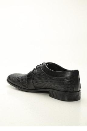 Ayakkabı Modası Erkek Siyah  Klasik Ayakkabı 2