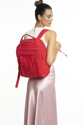 Benetton Kadın Kırmızı Sırt Çantası Bnt247 2