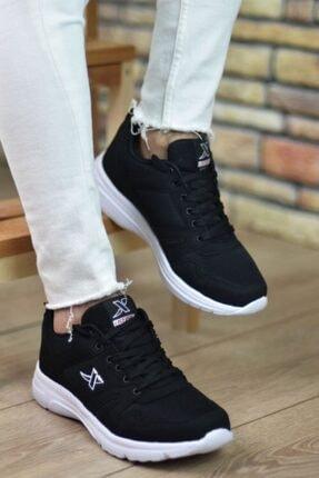 Marsetti Unisex Siyah Spor Ayakkabı 1