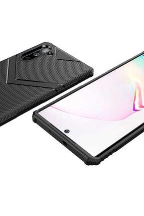 Dijimedia Galaxy Note 10 Kılıf Zore Hank Silikon Siyah 3