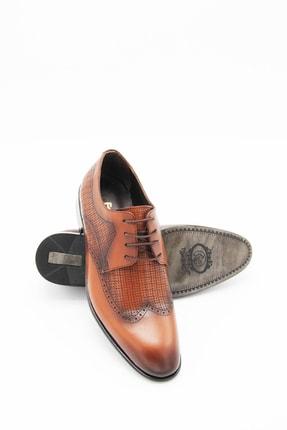 Sterk Ayakkabı Erkek Taba Topuklu Klasik Ayakkabı 1