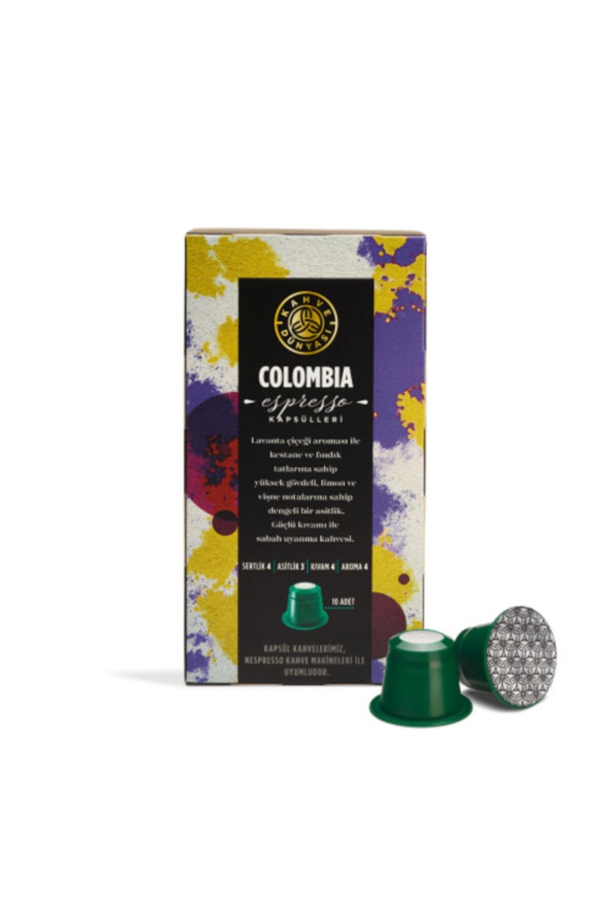 Kapsül Kahve Colombia