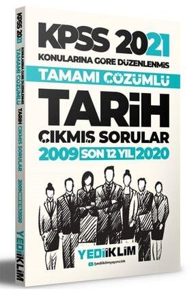 Yediiklim Yayınları 2021 Kpss Genel Kültür Tarih Konularına Göre Tamamı Çözümlü Çıkmış 0
