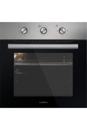 Luxell A6s3-mt Inox Saatli Statik Fırın 0