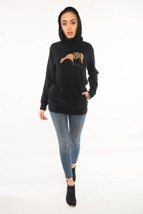 Kanduras Otherside Kadın Kapüşonlu Sweatshirt 0