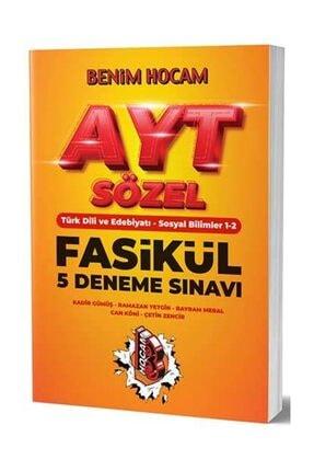 Benim Hocam Yayınları AYT Sözel 5 Fasikül Deneme Sınavı 0
