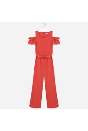 MAYORAL Kız Çocuk Kırmızı Tulum 0