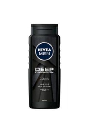 Nivea Men Duş Jeli 500ml Deep Dımensıon-6'lı Paket 0