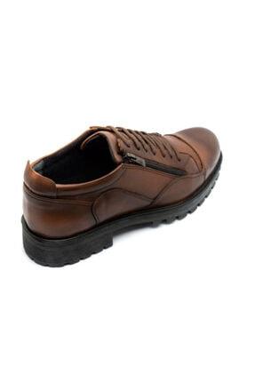 Onur Ayakkabı Erkek Taba Hakiki Deri Kışlık Ayakkabı 2