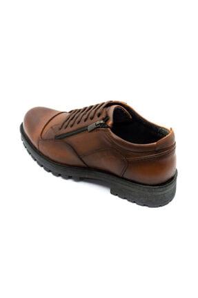 Onur Ayakkabı Erkek Taba Hakiki Deri Kışlık Ayakkabı 4