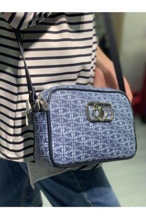 US Polo Assn Kadın Mavi Postacı Çanta 1