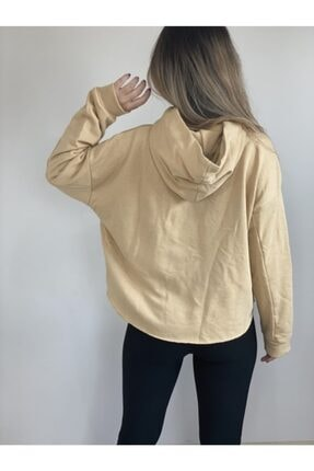 VEGALİFE Kadın Krem Sweatshirt 1