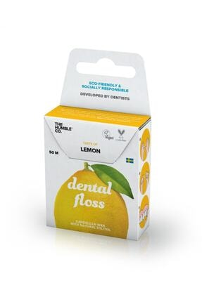 Humble Brush The Co Dental Floss Diş Ipi Limon 50m 0