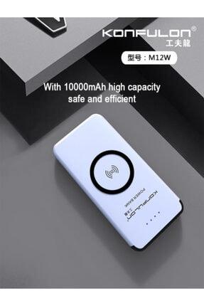 Konfulon M12w Powerbank + Kablosuz Şarj 10.000 Mah 1