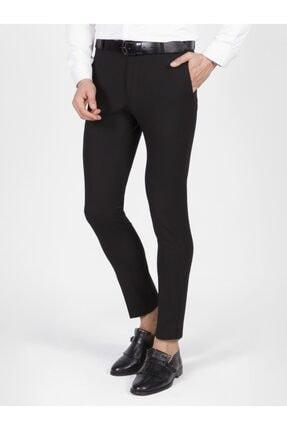 Mcr Erkek Siyah Slim Fit Kumaş Pantolon 0
