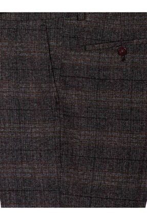 Mcr Erkek Kahverengi Model Super Slim Kumaş Pantolon 38909 1