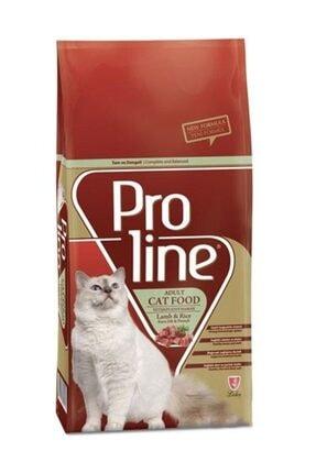 Pro Line Proline Kuzu Etli Ve Pirinçli Yetişkin Kedi Maması 15 Kg 0