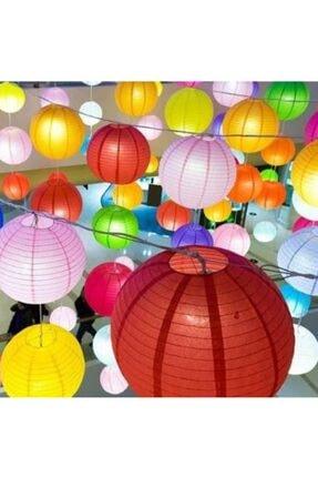 Kelebek Oyuncak Kırmızı Işıklı Japon Feneri 2