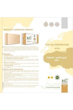 Biosoapy Doğal Sarımsak Sabunu 100 gr X 3 Adet (Saç Dökülmesine Karşı Etkili) 2